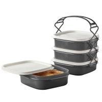 Herzberg HG-L765: 4 Layer Tetra Lunch Box