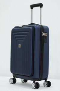Herzberg Travel HG-8065BLU: Cabin Bag - Blue