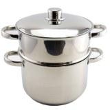 Royalty Line RL-C14L: 14L Stainless Steel Couscous pot