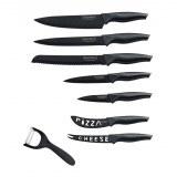 Royalty Line RL-CB7; Knife set with non-steack coating 7pcs