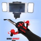 Automated Selfie Stick With Fan And Light