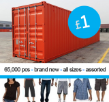 Mens & Ladies CLEARANCE CLOTHING STOCK OFFER SS2021
