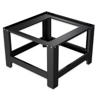 Herzberg HG-WP1: Universal Washing Machine Pedestal Black