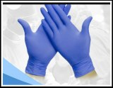 Disposable Nitrile Gloves Powdered free.