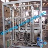 On site hydrogen production equipment for hydrogen storage