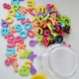 Educational Kid Toys EVA MAGNETIC LETTERS & NUMBERS 72 pcs