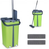 Cenocco CC-9077: Flat Mop with Bucket Green