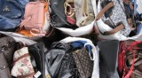 Used handbags and belts