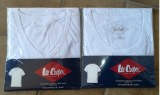 LEE COOPER T-Shirts, 100% Cotton, Weiß, Neuware_1,25 €