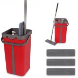 Cenocco CC-9077: Flat Mop with Bucket Red