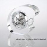 Clock factory crystal desktop clock for business gift
