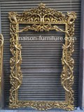 Antique french gold mirror frame