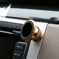 Customize 360 degree rotation magnetic car phone holder