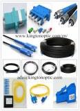 Fiber optic patch cord/pigtail/ plc splitters/connectors, adapters, attenuators factory selling