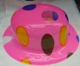 PVC hats,party hat,fashion hat,stylish hat