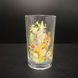 260ml Juice glass cup with Bunny design