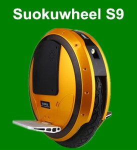 Suokuwheel S9 LED one wheel electric unicycle With Blue Tooth Music Speaker Ninebot